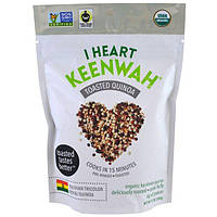I Heart Keenwah, Жареная киноа, Трехцветная королевская киноа из Боливии, 12 унций (340 г)