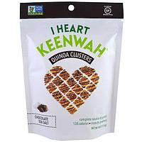 I Heart Keenwah, Кусочки с киноа, Шоколад и морская соль, 4 унции (113,4 г)