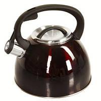 Чайник SS 2,5л двойное дно J02017