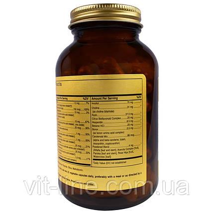 Solgar, Формула V, VM-75, мультивитамины и хелатные формы минералов, 120 капсул, фото 2