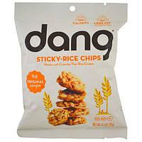 Dang Foods LLC, Чипсы из клейкого риса, оригинальный рецепт, 20 г (0,7 унции)