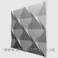 3D панель Пирамида 500х500х28мм