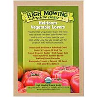 High Mowing Organic Seeds, Любители старинных сортов овощей, Коллекция органических семян, В ассортименте, 10 пакетов