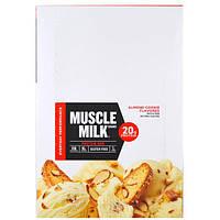 Cytosport, Inc, Muscle Milk Red Bar, Almond Cookie, 12 Bars, 2.25 oz (64 g) Each
