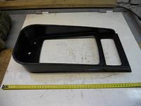 Накладка (панель) фары декоративная (очки, прямоугольная фара) КРАЗ