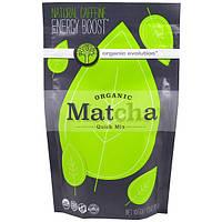 Organic Evolution, Органический быстрорастворимый зеленый чай маття, 4, 23 унции (120 г)