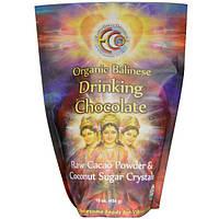 Earth Circle Organics, Органический Балинезийский шоколадный напиток, 16 унций (454 г)