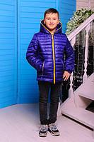 Стильная осенняя куртка для мальчика МОНКЛЕР-1