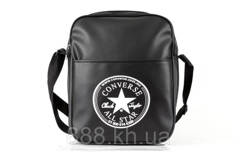 Сумка через плече Converse, сумка на плече, кожаная сумка, мужская сумка  реплика