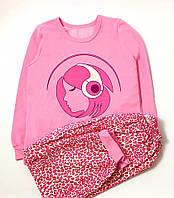Пижама с начесом для девочки Музыка (р.116,122)