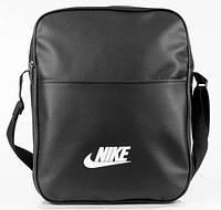 Сумка через плече Nike, сумка на плече, кожаная сумка, мужская сумка  реплика, фото 1
