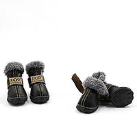 Обувь для животных UGGS DOG Мех, Черный