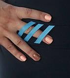 """Спортивні жіночі """"Фітнес"""" (темно-синій, блакитний), фото 4"""