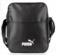 Сумка через плече Puma, сумка на плече, кожаная сумка, мужская сумка  реплика, фото 1