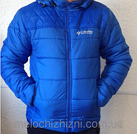Мужская куртка на синтепоне Columbia 46-54рр. зима