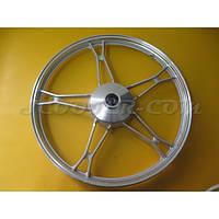 Диск переднего колеса Delta серый
