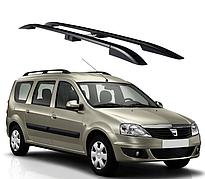 Рейлинги Dacia Logan 2006-2014 с пластиковым креплением