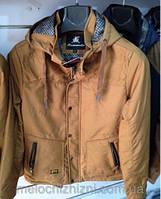 Мужская куртка Style весна/осень, бежевая 46-54рр.