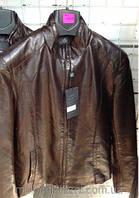 Мужская куртка демисезон прямой фасон Эко кожа 46-54рр.
