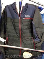 Мужская куртка Columbia (Коламбия)  ветровка стеганая 48-54рр.
