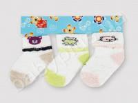 Детские махровые носки (цвета в ассортименте)