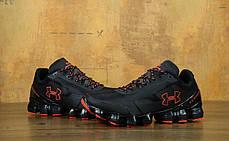 Мужские кроссовки Under Amour Scorpio Black/Red, фото 3