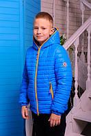 Стильная осенняя куртка для мальчика МОНКЛЕР-4