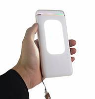 Power Bank  8000mAh Портативное зарядное устройство с фонариком, индикатором и солнечной панелью