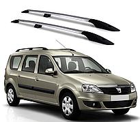 Рейлинги Dacia Logan 2006-2014 с металлическим креплением
