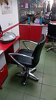 Перетяжка мебели для парикмахерских