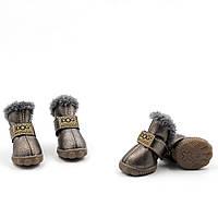 Обувь для животных UGGS DOG Мех, металлик