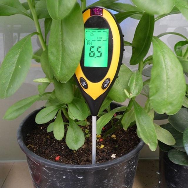 Анализаторы грунта (кислотность, влажность, температура, освещенность)