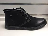 Мужские ботинки зимние Classic на меху 40-45 рр. Эко кожа