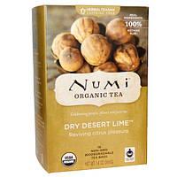 Numi Tea, Органический травяной чай Teasans, Чай с сухим эримоцитрусом сизым, 18 пакетиков, 1,4 унции (39,6 г) каждая