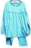 Пижама на байке 100% хлопок супербатал 2XL
