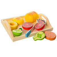 Игрушечные продукты деревянные на магнитах Synergy Ltd MD 1072