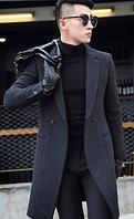 Мужское пальто. Модель 61558, фото 2