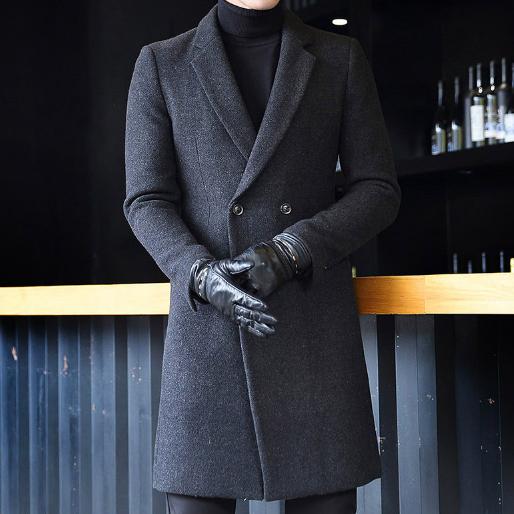 Мужское пальто. Модель 61558