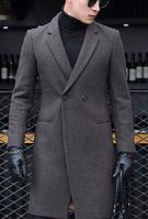 Мужское пальто. Модель 61558, фото 4
