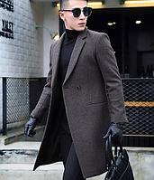 Мужское пальто. Модель 61558, фото 5