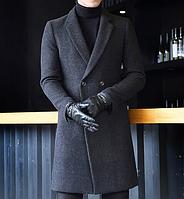 Мужское пальто. Модель 61558, фото 7