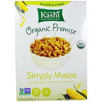 Kashi, Organic Promise, просто кукуруза, цельнозерновые хрустящие кукурузные хлопья, 10,5 унции (297 г)