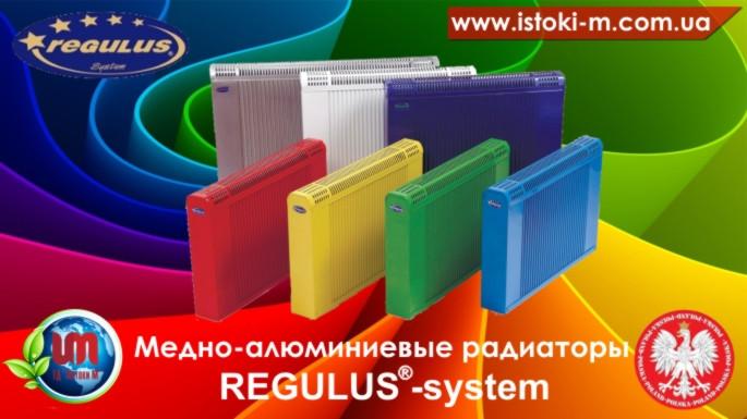 Цветные радиаторы REGULUS , фото 1