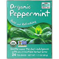 Now Foods, Органический чай из перечной мяты, 24 чайных пакетика, 1.7 унций (48 г)