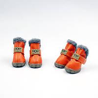 Обувь для животных UGGS DOG Мех, оранжевый