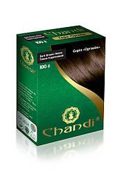 Фарба для волосся Chandi. Серія Органік. Темно-коричневий, 100г