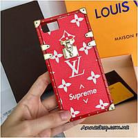 Защитный чехол Луи Витон Supreme для Apple Iphone 6, 7, (6+), (7+), Люкс копия