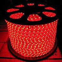 LED 5050 красный диоды  бухта 100m 220V LED 5050 Red 100m 220V
