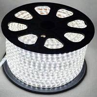 LED лента 5050  белые диоды бухта 100m 220V