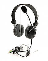Наушники накладные с микрофоном ProLogix MH-A790M Black (MH-A790M)